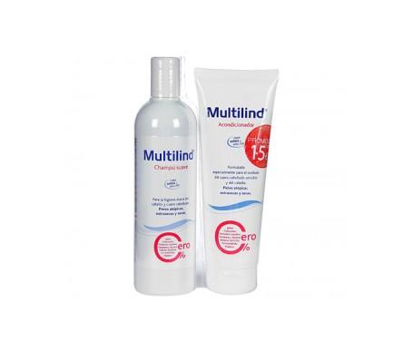 Shampoo delicato Multilind™ 400ml + balsamo 250ml