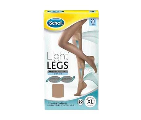 Scholl Light Legs medias de compresión ligera 20DEN color carne Talla XL 1ud