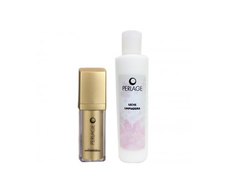 Perlage anti-wrinkle cream 15ml + cleansing milk 200ml