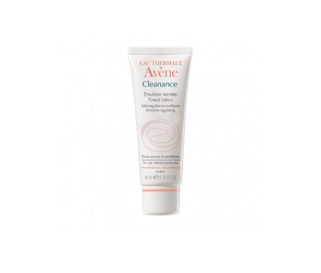 Avene Cleanance Emulsion Coloreada 40ml