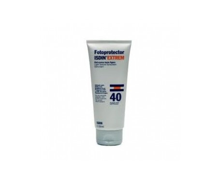 Fotoprotector ISDIN® Extrem gel-crema tacto ligero SPF40+200ml