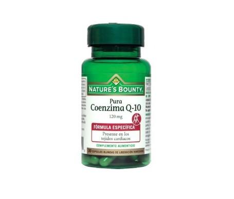 Nature's Bounty Coenzima Q 10 120 Mg 30 Cápsulas