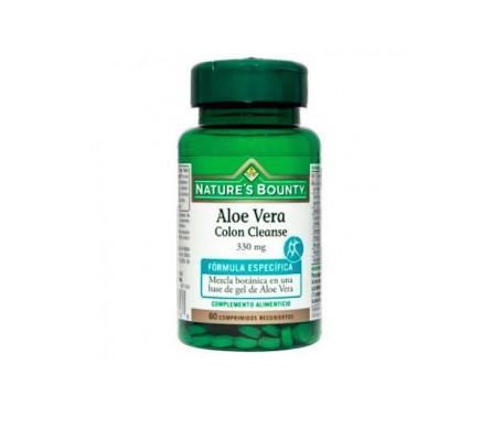 Nature's Bounty Aloe Vera Colon Cleanse 330 Mg 60 Comprimidos