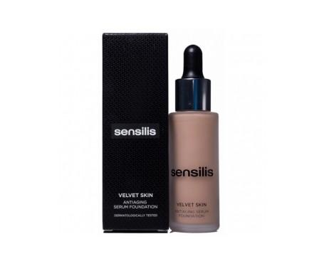 Sensilis Velvet Skin Antiaging Serum Foundation Base Maquillaje
