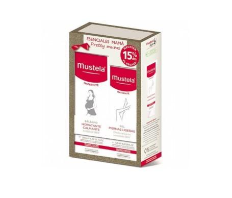 Mustela Kit Esenciales Mama Balsamo Hidratante 200ml + Gel Piern