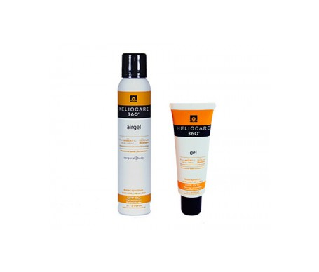 Heliocare 360º SPF50+ airgel 200ml + gel facial 25ml de regalo