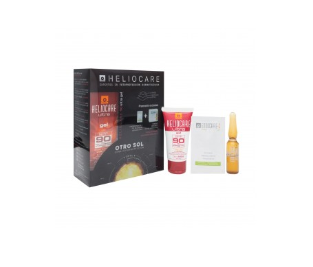Heliocare Pack ultra SPF90+ gel 50ml + 3uds Endocare CPeel + Obsequio