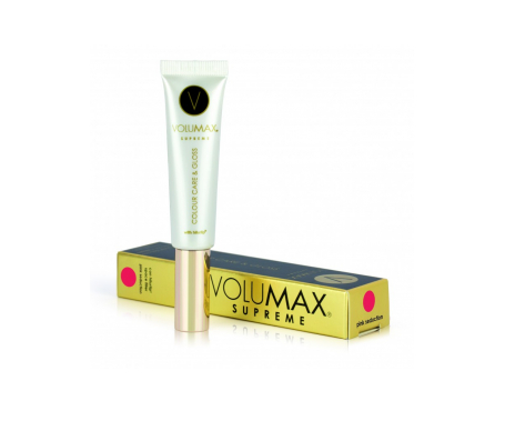 Volumax Supreme Colour Care & Gloss bálsamo labial color pink seduction 15ml