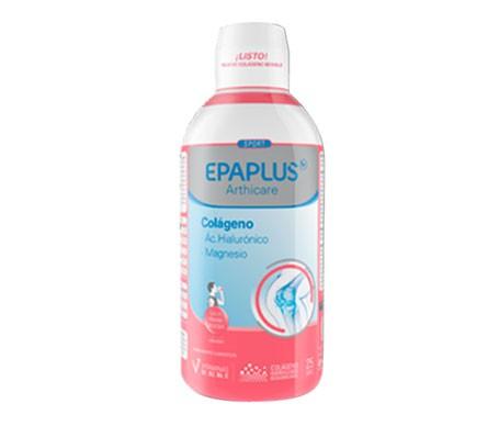 Epaplus Colágeno+ Ác. Hialurónico + Magnesio sabor frambuesa 25 días 1l bebible