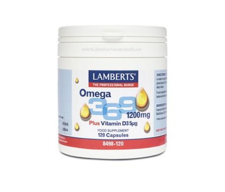 Lamberts Omega 369+ Vitammina D3
