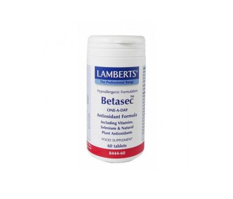 Lamberts Betasec Antioxidante 60 Comp