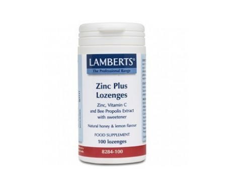 Lamberts Zinc Plus Masticables 100 Comp