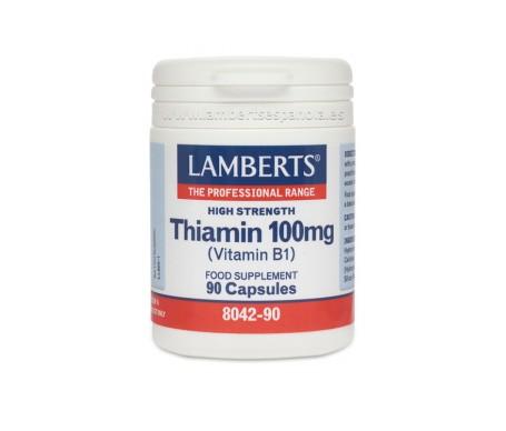Lamberts Tiamina 100 Mg 90 Cap