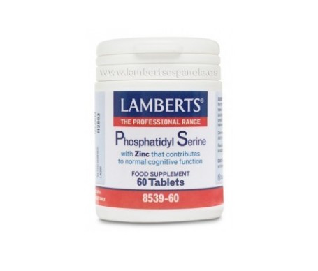 Lamberts Fosfatidil Serina 100 Mg 60 Comp