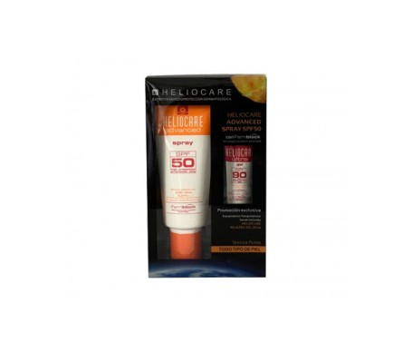 Heliocare Pack Advanced SPF50+ spray 200ml + Ultra SPF90+ gel 25ml