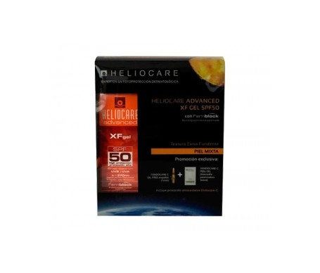 Heliocare Pack Advanced SPF50+ XF gel 50ml + Endocare-C 7amp + Endocare-C Peel gel 3x6ml