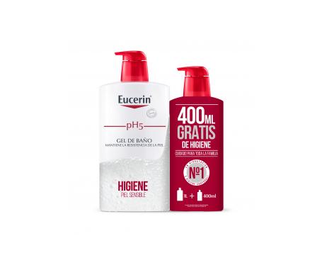 Eucerin® Family Pack Gel de baño 1l + 400ml
