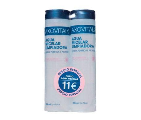Axovital Mizellare Reinigungswasser 200ml+200ml