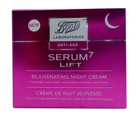Boots Laboratories Serum7 Lift crema rejuvenecedora 50ml