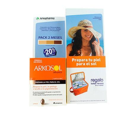 Arkosol pieles claras 30cáps+30cáps + Regalo Bolsa Nevera