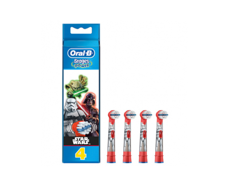 Oral-B® Stages Power Star Wars recambios 4uds