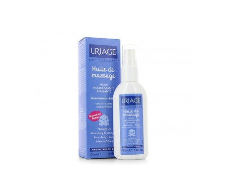 Uriage Aceite Masaje Spray Bebé 100ml