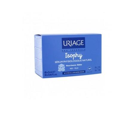 Uriage Isophy Suero fisiológico Monodosis 5m 20 unidades