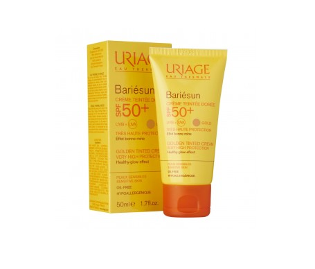 Uriage Bariesun Spf 50+ Crema Con Color Claro 50ml