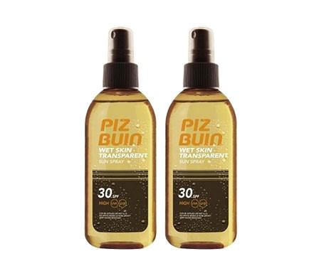 Piz Buin® Pack Wet Skin SPF15+ aceite spray 2udsx150ml