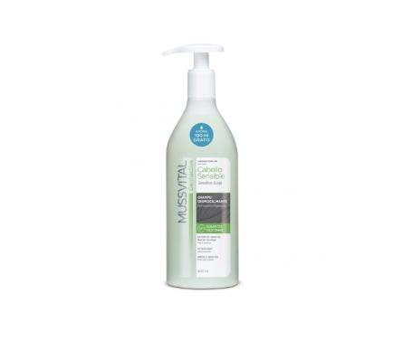 Shampoo al cuoio capelluto Sensibile Dermativo Mussvital 400ml
