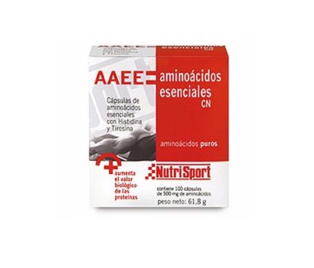 Nutri-sport Aaee Aminoacidos Esenciales Capsulas Nutrisport