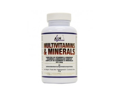 ASN Multivitamines & Minéraux 60comp