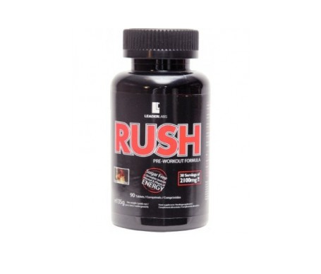 Leader Labs Rush 90comp masticables sabor cola