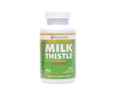 Natural Diet Cardo Mariano protector hepático 120cáps