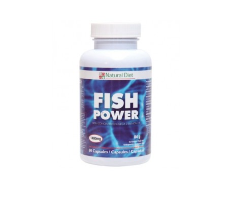 Natural Diet Fish Power 60cáps