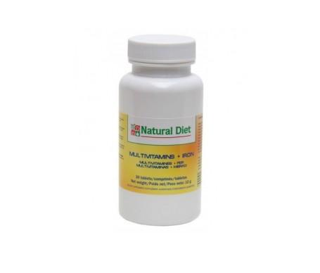 Natural Diet Multivitamins + Iron 30comp