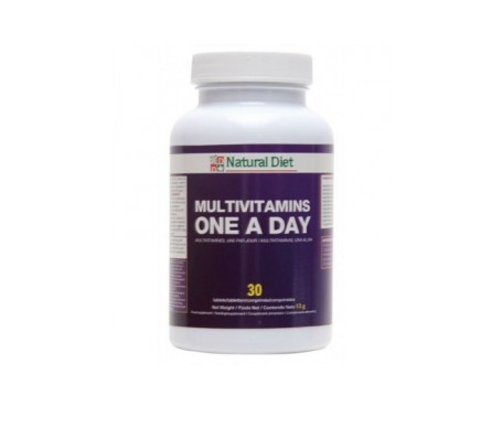 Natural Diet Multivitamins One a day 30comp