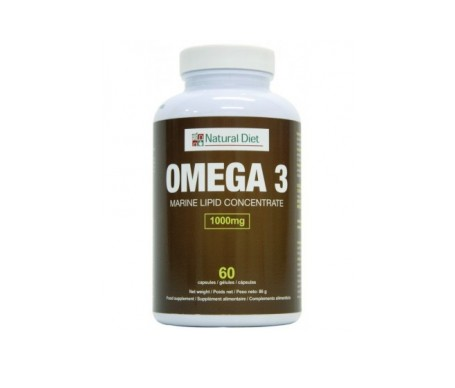 Natural Diet Omega 3 60cáps
