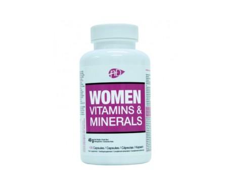 Natural Diet Vitaminas y Minerales Mujer 100comp