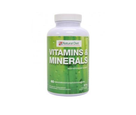 Vitamines et minéraux naturels 60comp