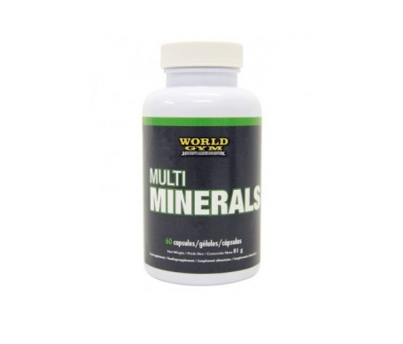 World Gym Multi Minerals 60cáps