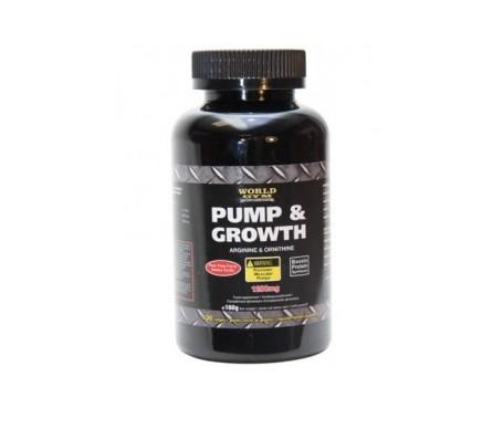 World Gym Pump & Growth 120cáps