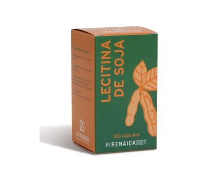 La Pirenaica Lecitina De Soja 100 Cápsulas