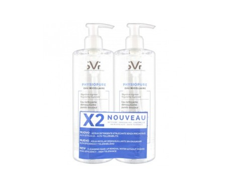 Svr Physiopure Agua Micelar 2x400ml