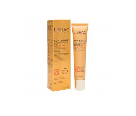 Lierac Sunissime fluido protector rostro antiedad FPS50+ 40ml