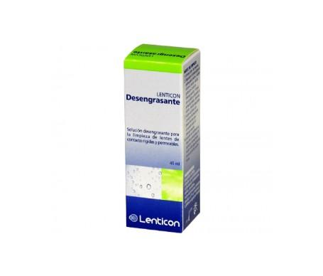 Lenticon desengrasante 2x45ml