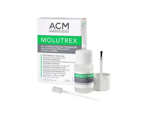 Molutrex solución 3ml