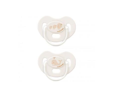 Acofar Baby chupete anatómico de silicona 0-6m 2uds
