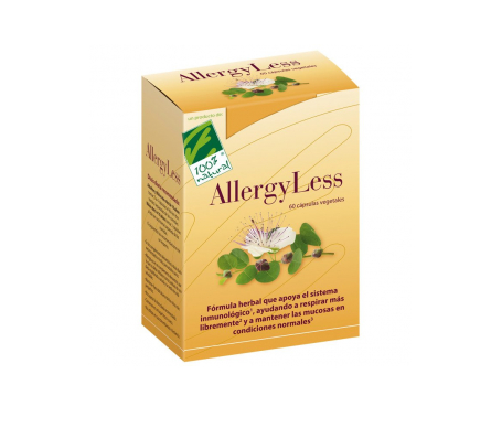 100% Natural Allergy Less 60cáps