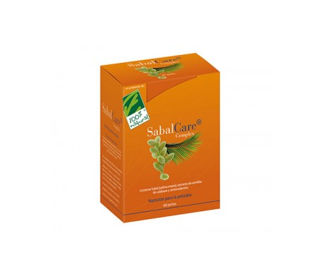 100% Natural Sabal Care Prostata 60 Perlas